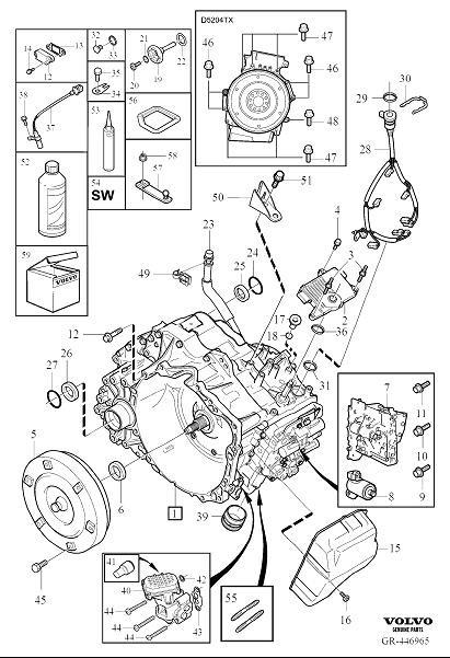 Volvo Polestar 1 Screw with Pin. Automatic Transmission