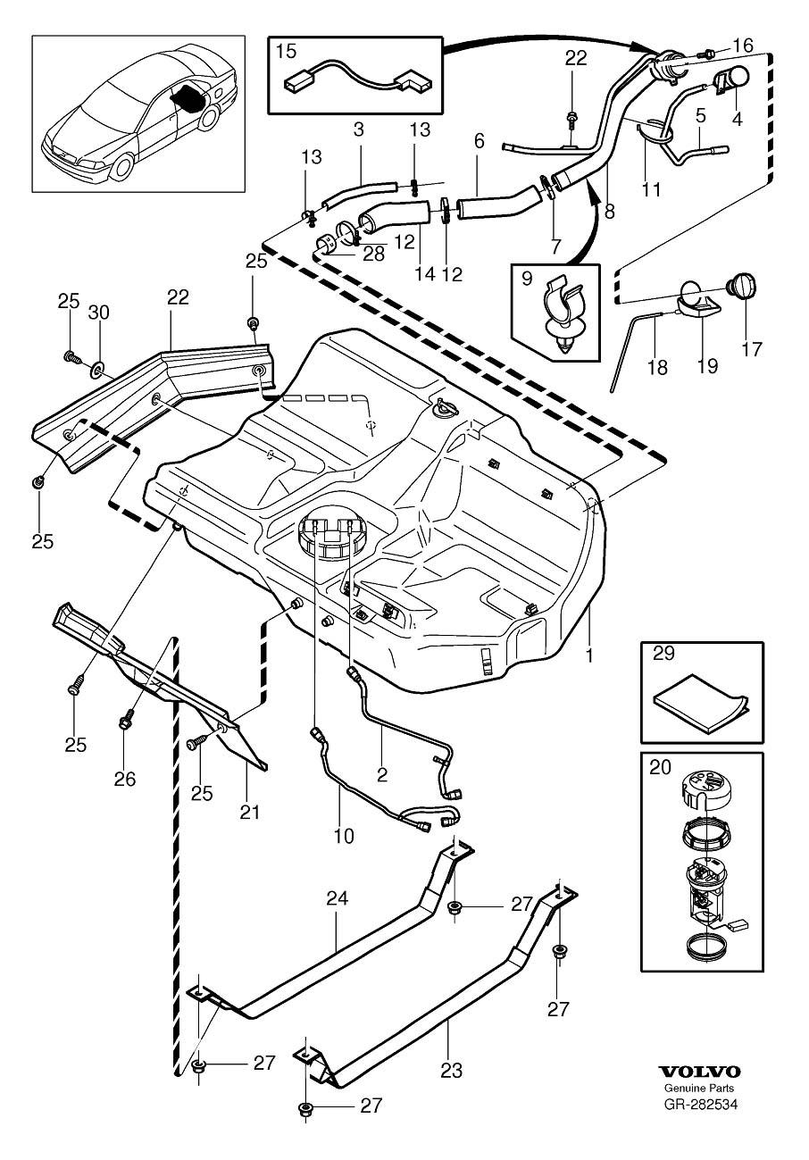 2001 Volvo V4 0 Engine Diagram FULL HD Version Engine