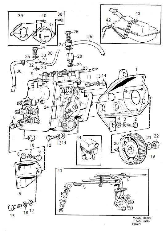 1983 Volvo 240 Engine Timing Camshaft Sprocket. PULLEY