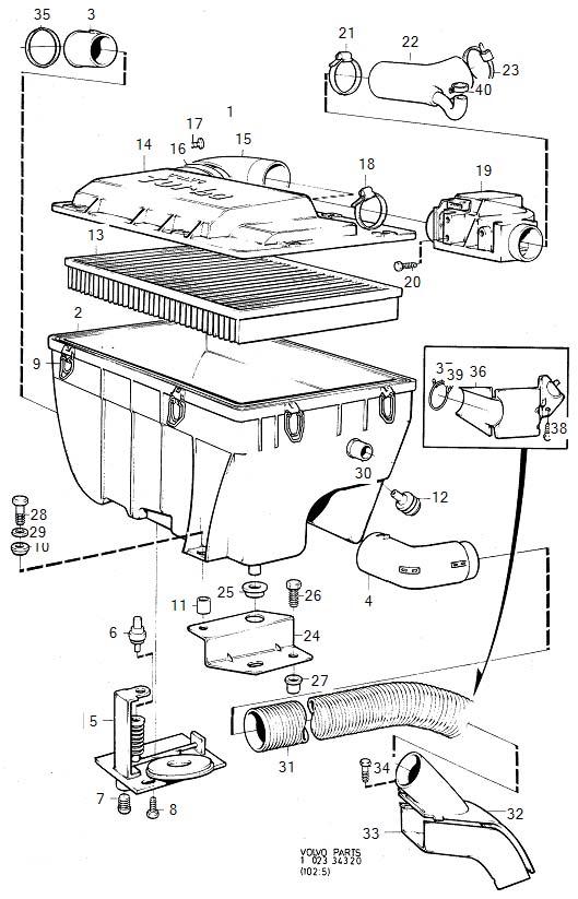 2001 Volvo Pre Heating Plate. PRE-HEATING PLATE. Air