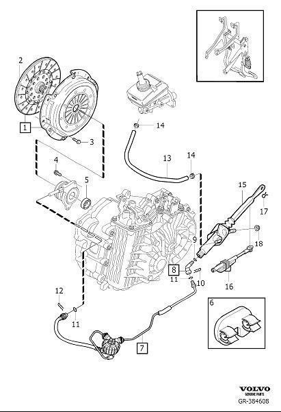 2007 Volvo S60 Manual Transmission Input Shaft Seal