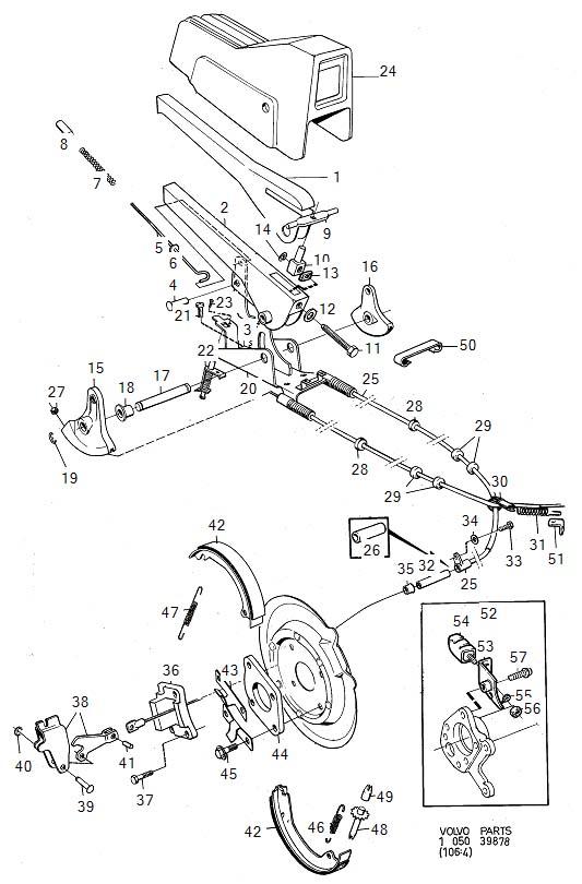 1985 Volvo 260 Flange Screw. AWD. Heat Shields. M10x50