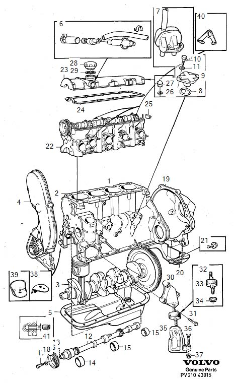 1979 Volvo 240 Engine Mount Bracket (Left). ENGINE