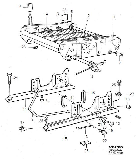1998 Volvo V90 Heat shrinkable Tubing. Side Operated