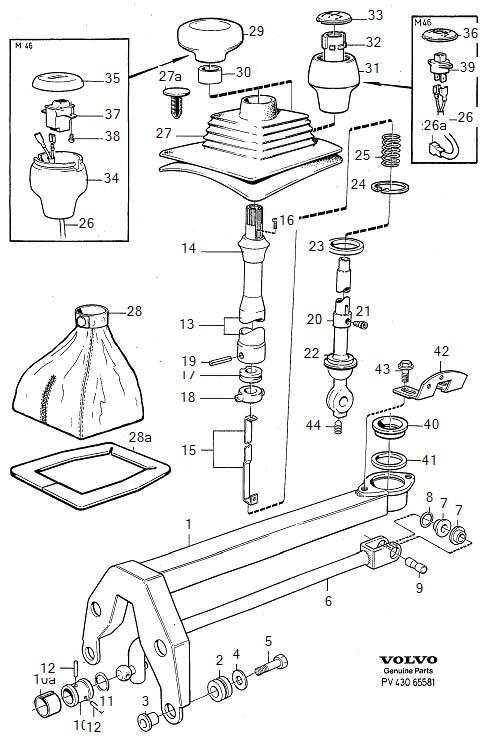 1983 Volvo 240 Suspension Stabilizer Bar Link Washer