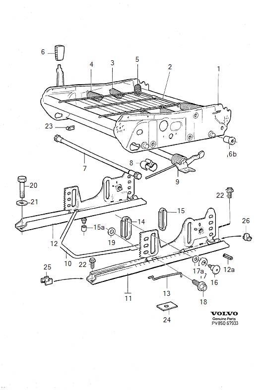 1988 Volvo 740 Engine Timing Belt Tensioner. DAMPING