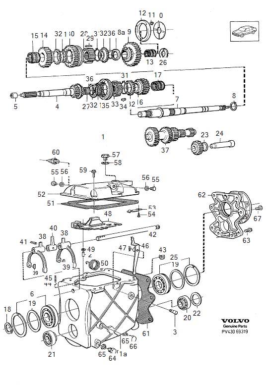 2005 Volvo E circlip. E-CIRCLIP. Gearbox, Transmission