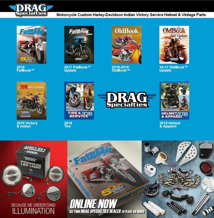 Drag Specialties USA Distribution Import Export Europe