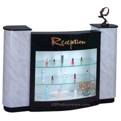 Pedicure Chair Manufacturers Modern Rocking Chairs Iris B Reception Counter | Us Spa