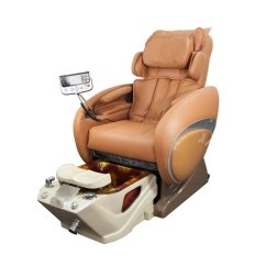 Massage Pedicure Chair Covers For Party Fiori 8000 Spa Us With 3d Full Body Cappuccino
