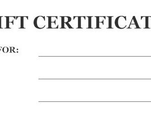 USPC Gift Certificate