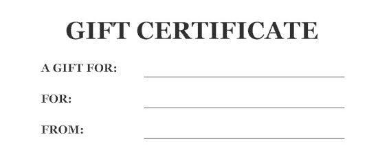 USPC Gift Certificate