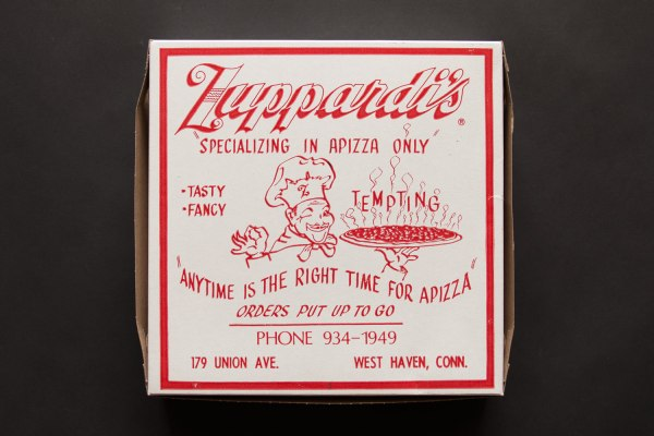 Zuppardi's Apizza Pizza Box
