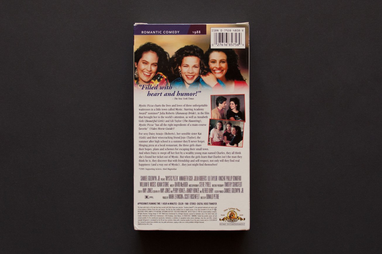 Mystic Pizza VHS