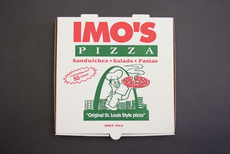 Imo's Pizza Box