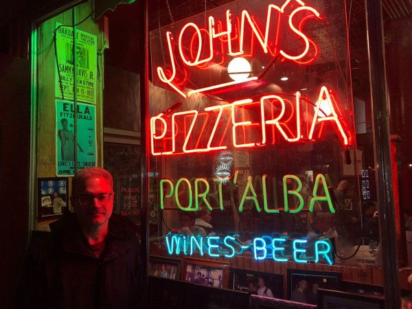 Peter Regas at John's on Bleecker Street, 2019