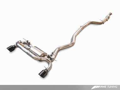 AWE Tuning BMW F3X 335i/435i Touring Edition Axle Back