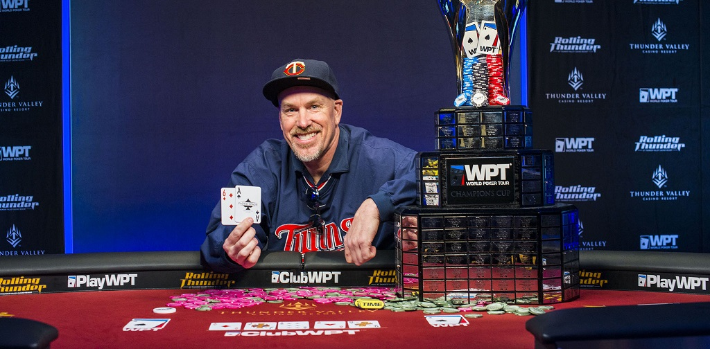 David Larson Wins Wpt Rolling Thunder; Mckeehen Finishes Third