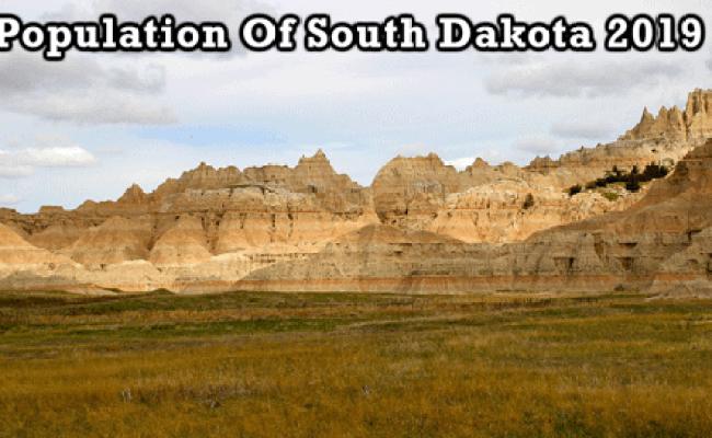 Population Of South Dakota 2019