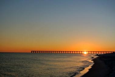 Navarre Beach, coucher de soleil_usproject2016.com