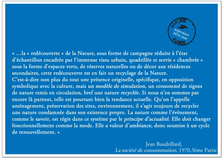 Carte Postale Baudrillard_usproject2016.com