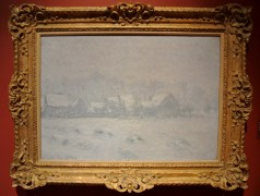 Claude Monet, Neige à Giverny, 1893 (à recadrer)