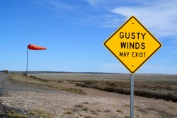 Gusty winds do exist