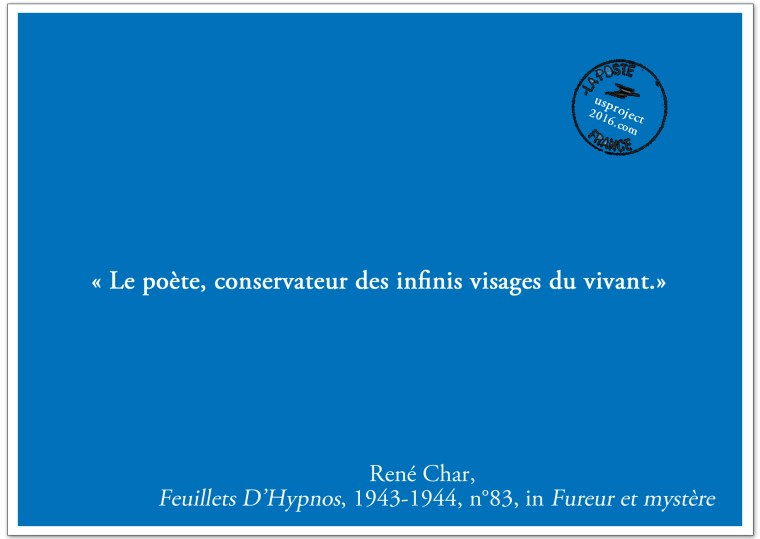 Carte Postale René Char (II)_usproject2016.com