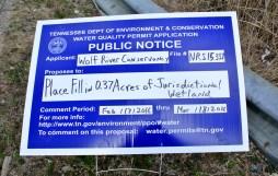 Permis accordé à la Wolf River Conservancy