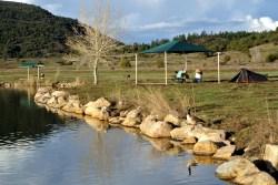Campement au pied de Chimney Rock National Monument
