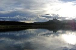 Chimney Rock National Monument, Crépuscule du soir (2)