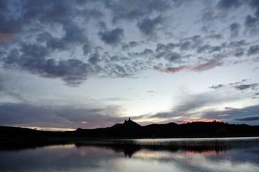 Chimney Rock National Monument, Crépuscule du soir (7)