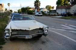 Cadillac défoncée