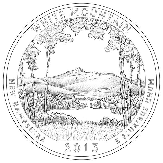2013 America the Beautiful Quarters Designs