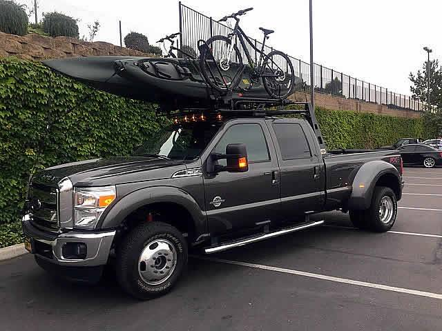 2004 2020 ford f 150 fifth wheel 6 rack with crossbar with deck black 6 ft over cab pn 82551211