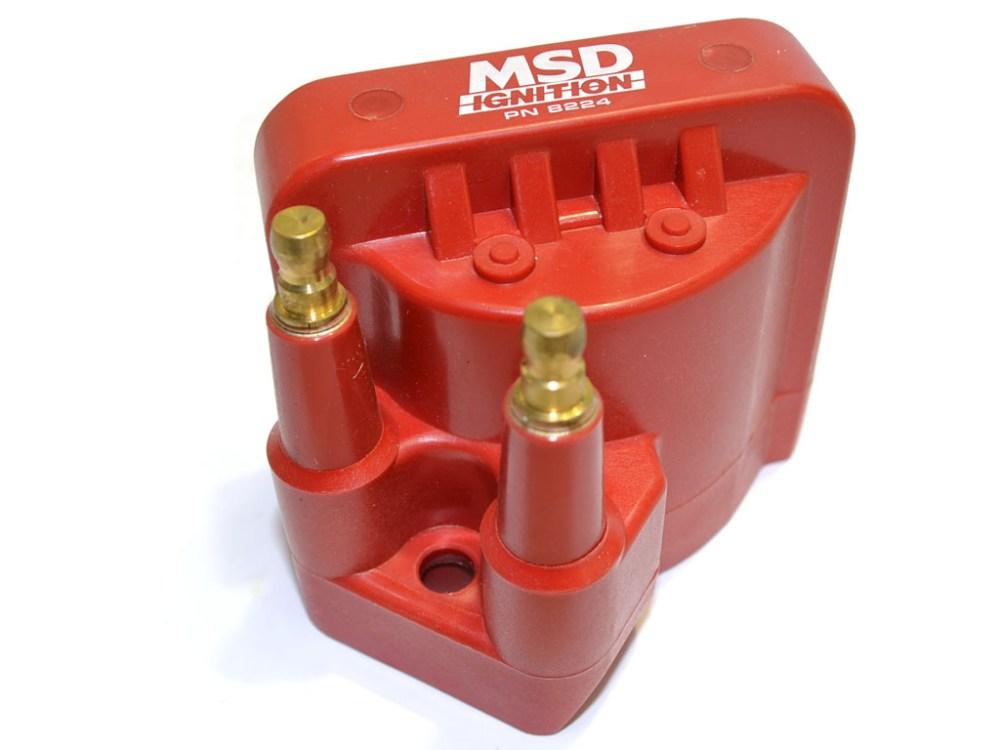 medium resolution of msd 8224 coil pack vr6 mk3 4 12v
