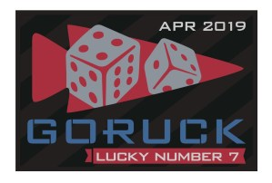 Lucky 7 – April GoRuck Challenge