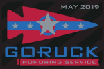 May GoRuck Challenge Patch