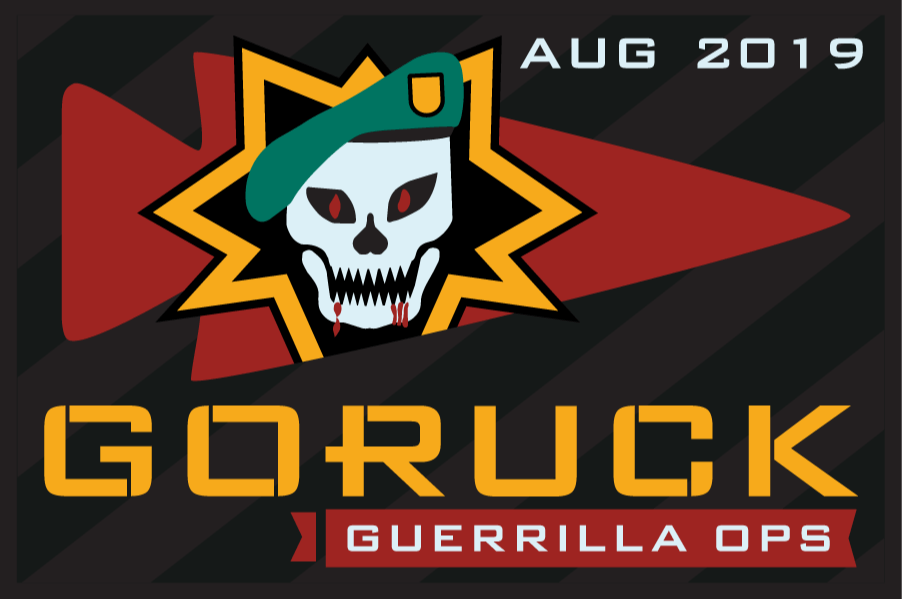 Guerrilla Ops – August GoRuck Challenge