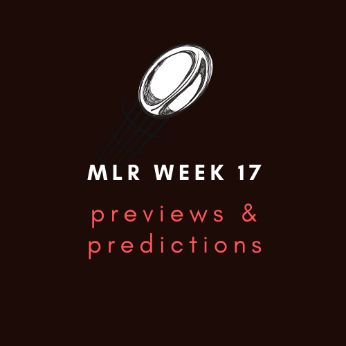 MLR Week 17 Preview and Predictions