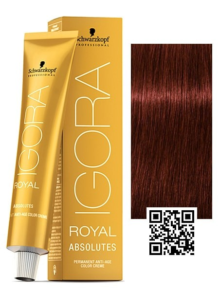 Schwarzkopf Igora Royal Absolutes Anti Age Permanent Hair