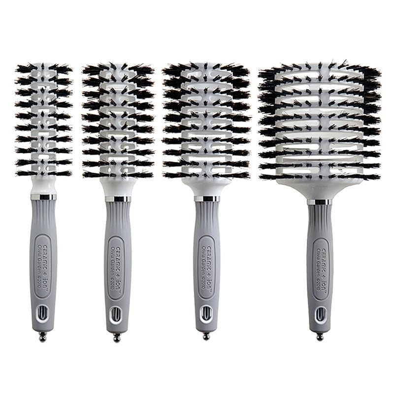 Log in or sign up for facebook to connect with friends, family and people you know. Olivia Garden Ceramic Ion Thermal Turbo Vent 100 Boar Hair Brush
