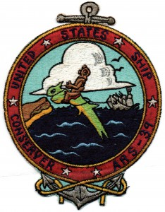 USS Conserver Patch 1963 image