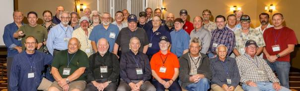 Shipmates of the USS Conserver gathered in Branson, MO for the 2019 reunion