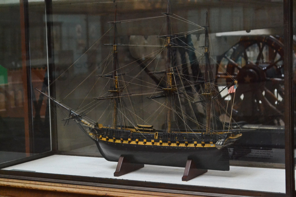 John F Kennedy and Old Ironsides  USS Constitution Museum