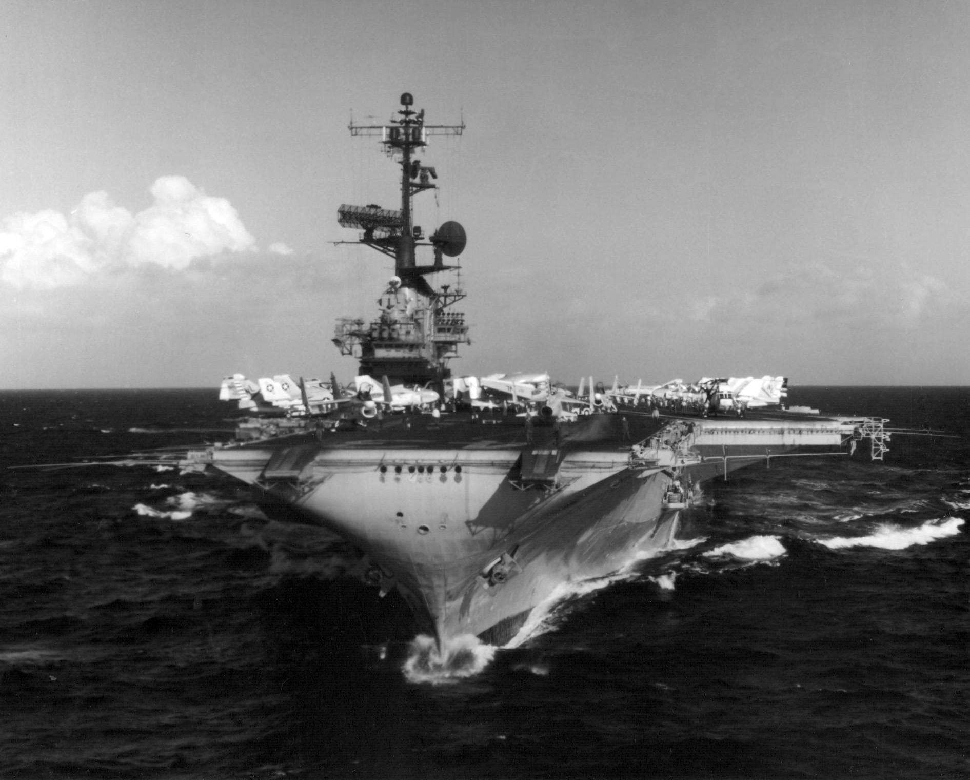 Cv Cv Uss Uss Sea Coral Enterprise Cv 65 41 Midway 43 Uss