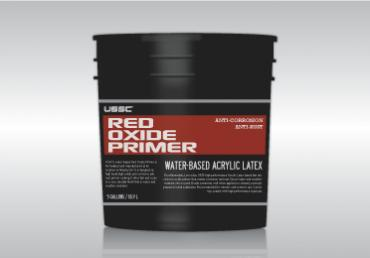 Water Based Red Oxide Primer Anti Rust Anti Corrosion For