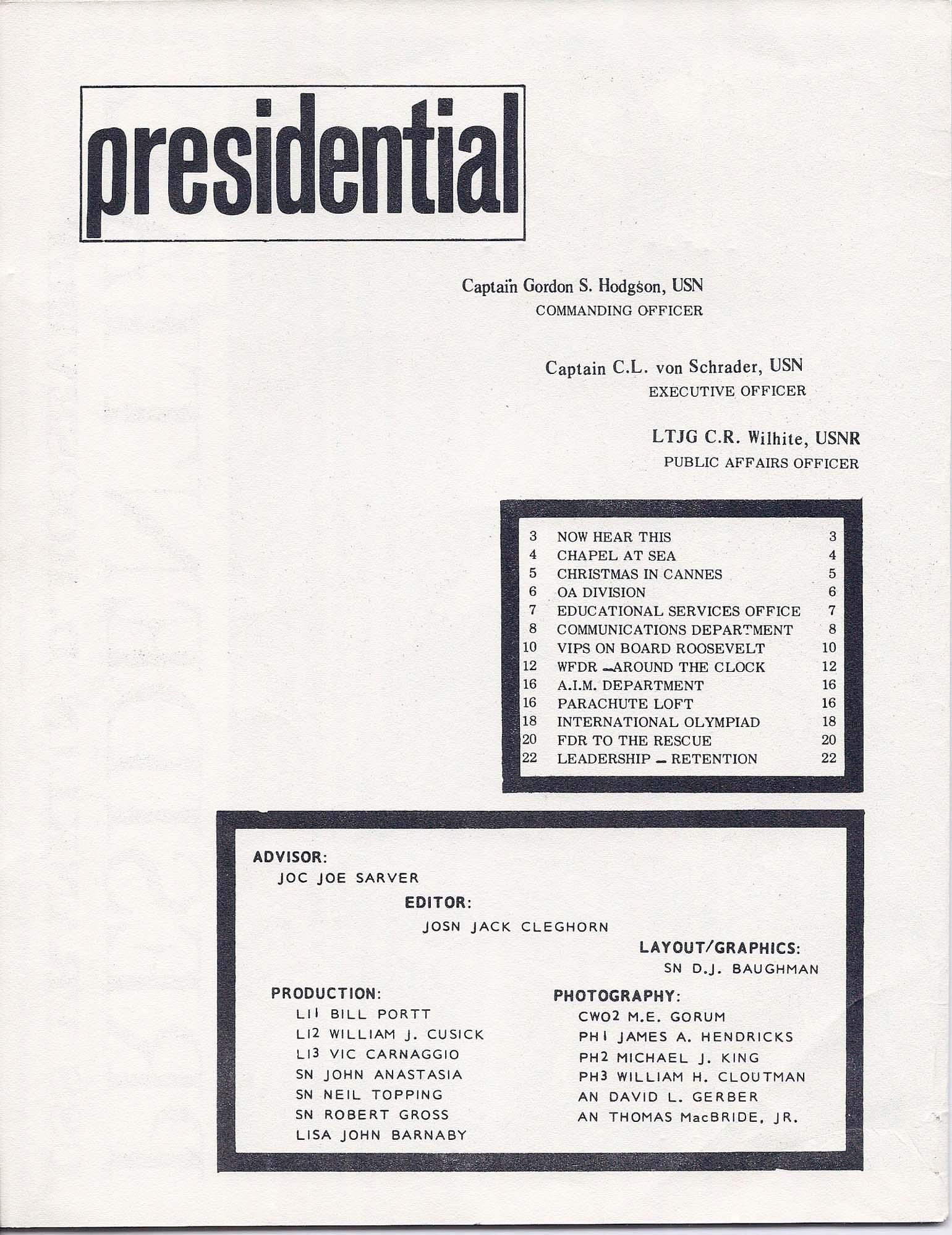 1968/03 Presidential