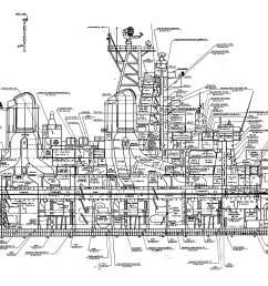 naval battleship diagram [ 7474 x 1813 Pixel ]