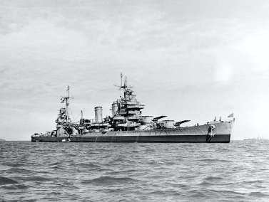 Off the coast of Korea, 9.28.1945